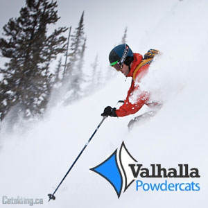 Valhalla Powdercats Snowcat Skiing December 2010