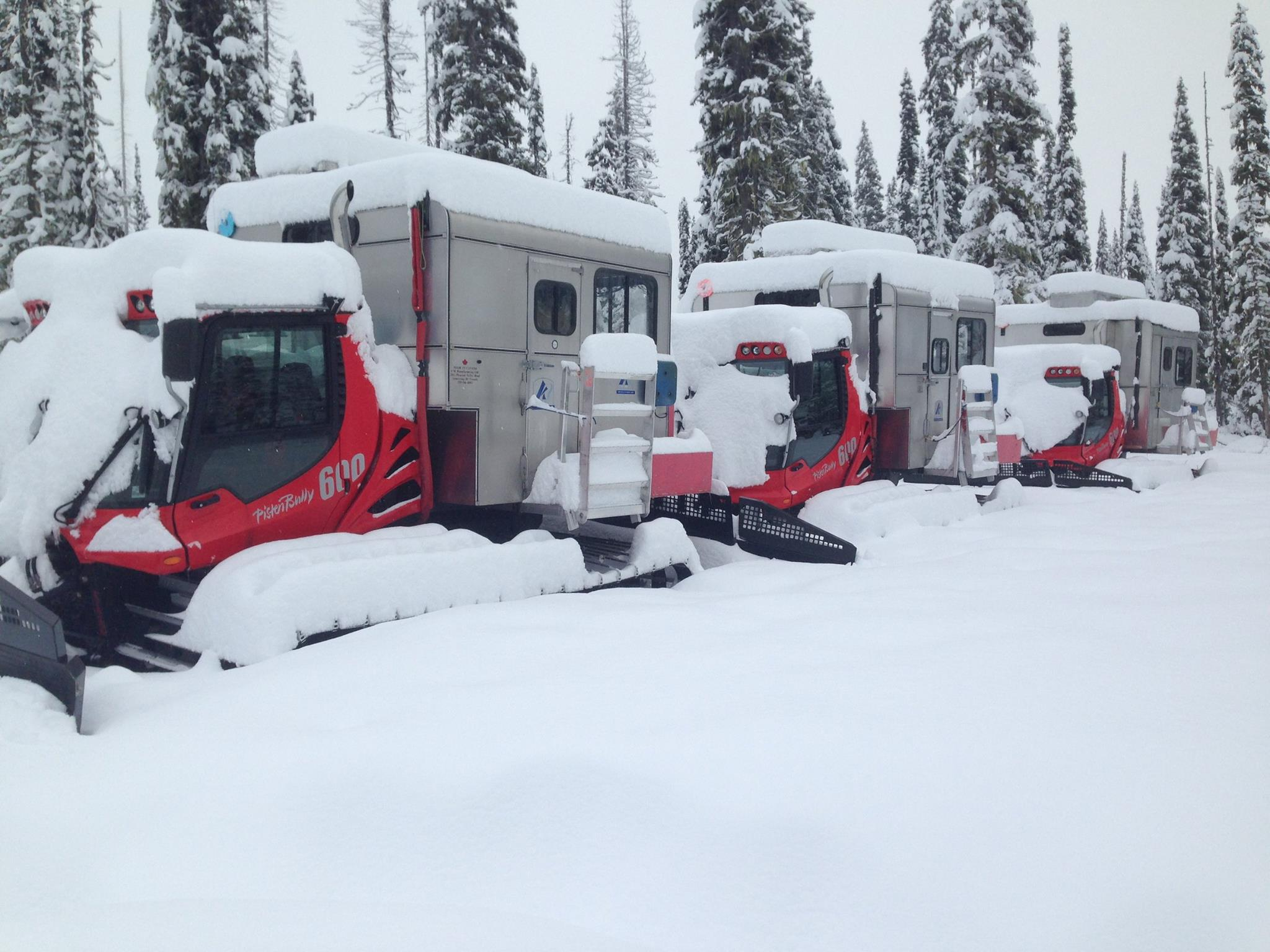 These Snowcats are waiting for you at K3 Catskiing