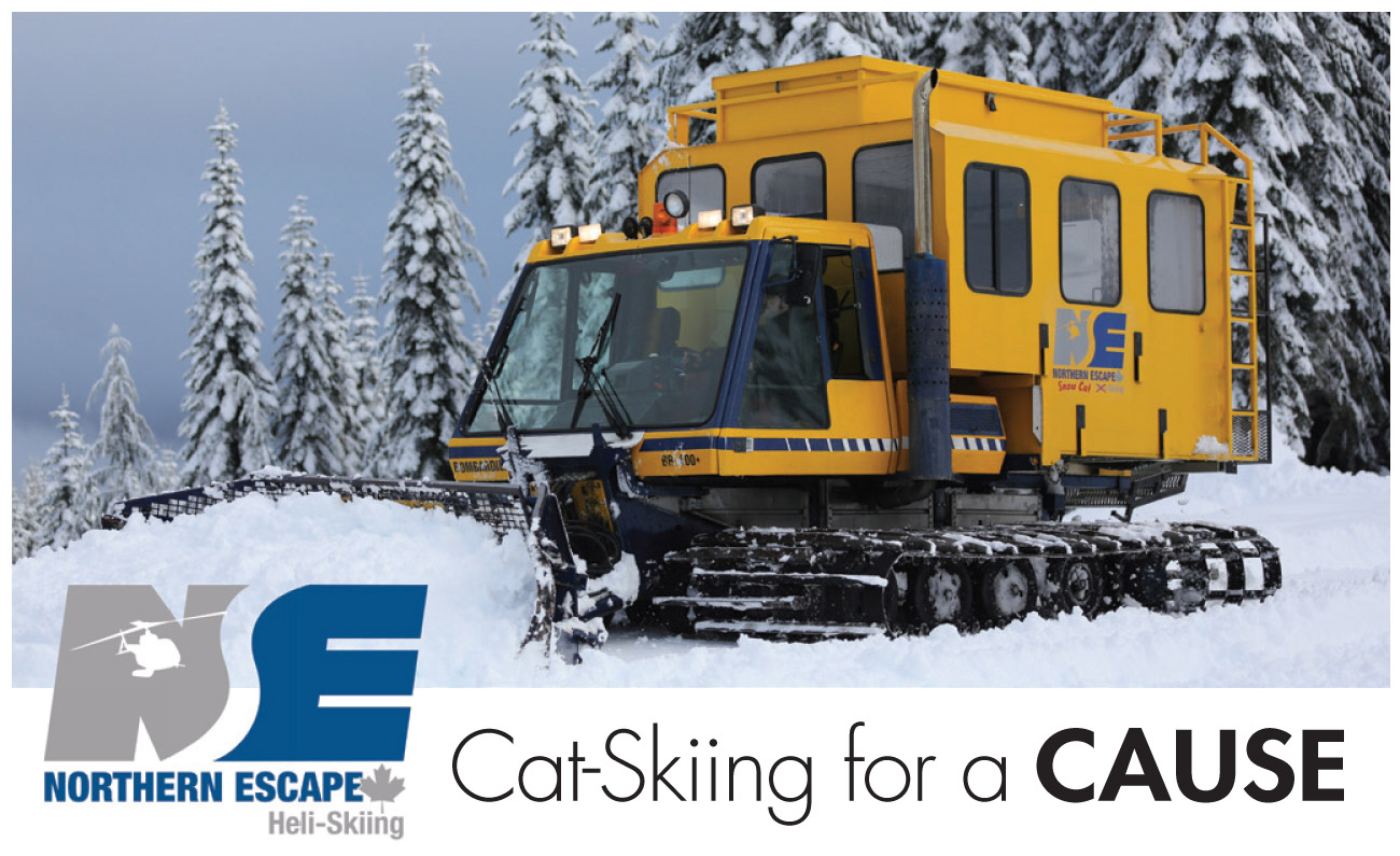 Catskiing for a Cause with Northern Escape